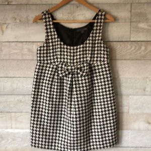 ❤️Forever 21 houndstooth jumper with bow